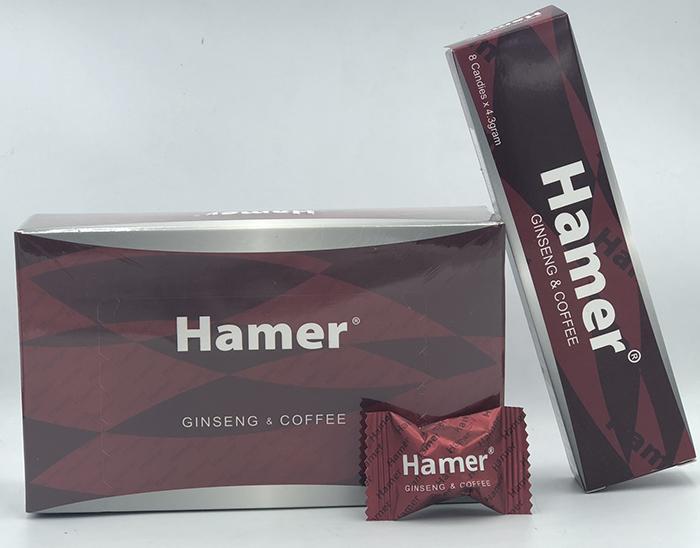 Hình ảnh thực tế mở hộp Kẹo tăng cường sinh lý nam Hamer của Mỹ hộp 32 viên tại Cậu Bé Sìn Sú 1