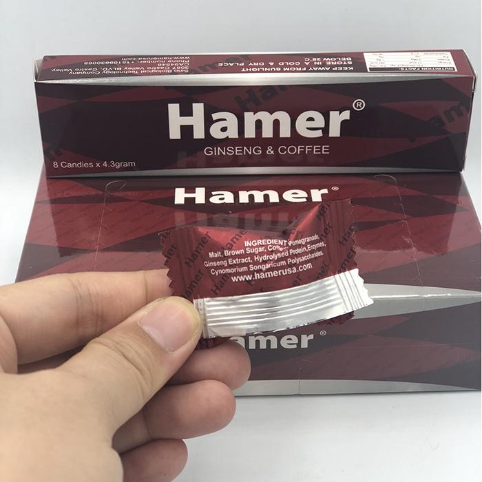 Hình ảnh thực tế mở hộp Kẹo tăng cường sinh lý nam Hamer của Mỹ hộp 32 viên tại Cậu Bé Sìn Sú 5