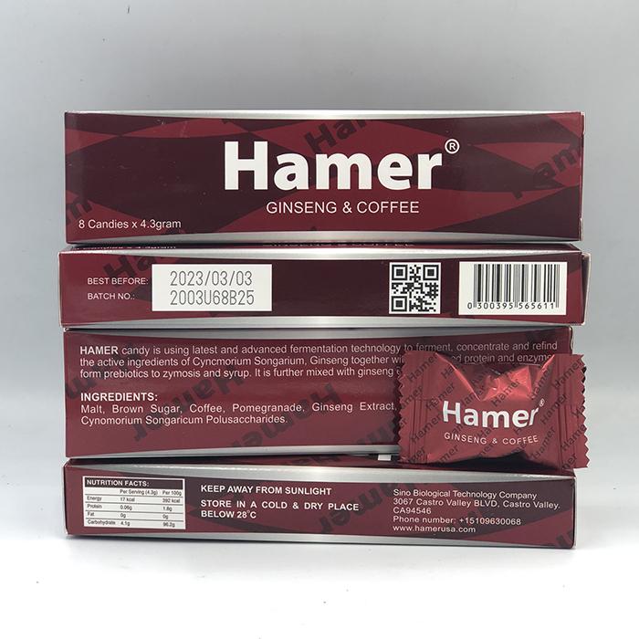 Hình ảnh thực tế mở hộp Kẹo tăng cường sinh lý nam Hamer của Mỹ hộp 32 viên tại Cậu Bé Sìn Sú 6