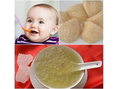 Tăng cân cho trẻ nhờ vào chế biến món ăn kết hợp Yến sào Khánh Hòa
