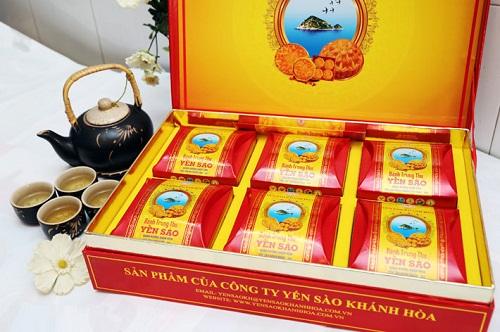 Đại lý Bánh trung thu yến sào Khánh Hòa tại Thái Nguyên, Thanh Hóa