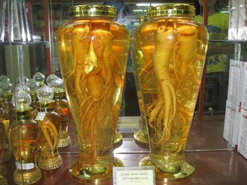3 bước cơ bản cho cách ngâm sâm tươi Hàn Quốc với rượu