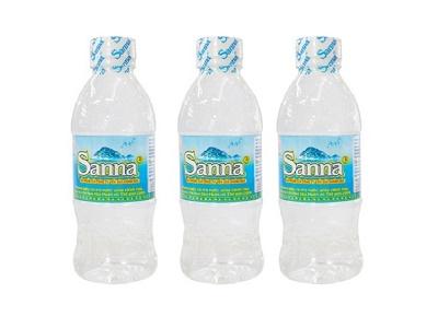 Nước đóng chai Sanna thực chất là gì?