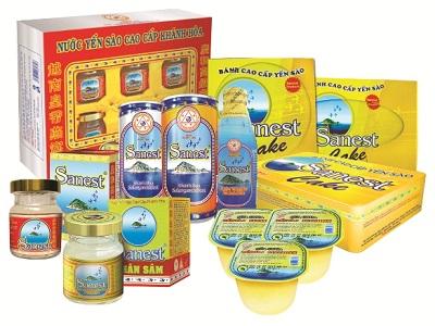 Dòng sản phẩm yến sào Khánh Hòa đạt chất lượng nhất
