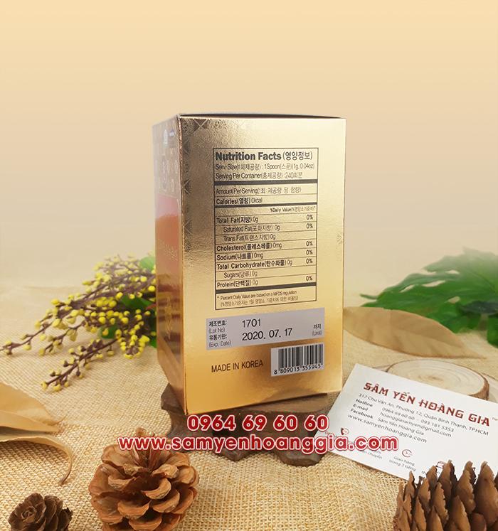 SHOWROOM bán Cao Hồng Sâm Linh Chi Hàn Quốc tại Thái Nguyên, Thanh Hóa