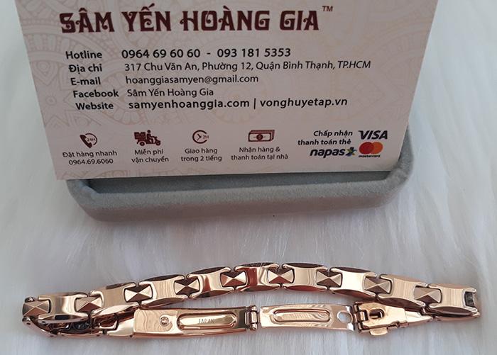 Địa chỉ cửa hàng uy tín bán vòng điều hòa huyết áp Hàn Quốc chính hãng tại Tiền Giang