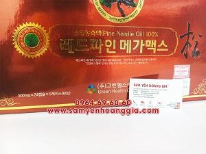Địa chỉ bán viên tinh dầu thông đỏ Hàn Quốc tại Việt Trì, Phan Rang Tháp Chàm